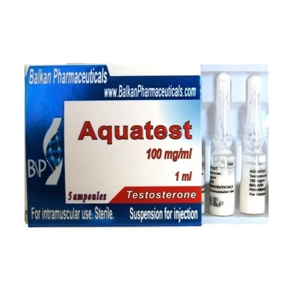 Aquatest [Testosterone suspension]